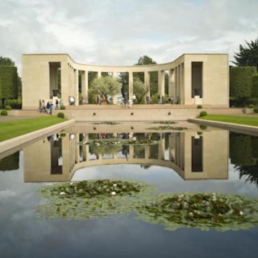 Normandy_Reflecting_Pool